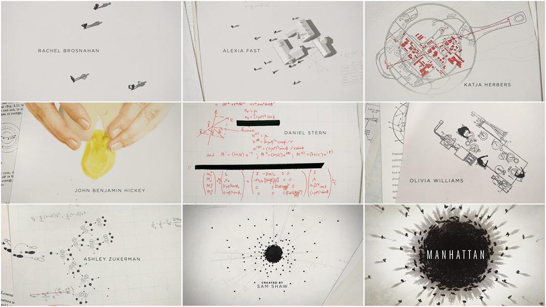 Manhattan (2014) — Art of the Title