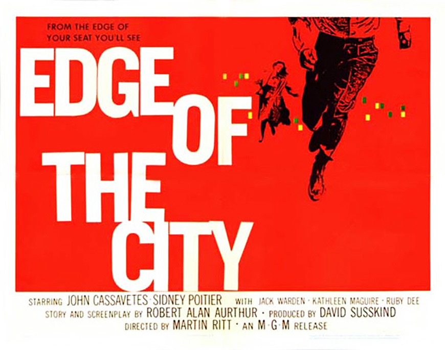 IMAGE: Edge of the City (1957) Half Sheet Poster