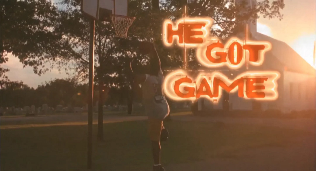 VIDEO: Title Sequence –He Got Game (1998)