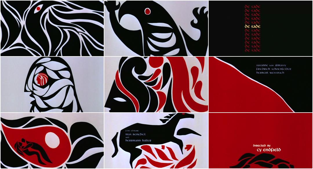 VIDEO: Title Sequence - De Sade (1969)