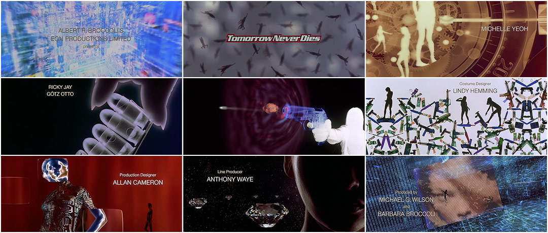 VIDEO: Title Sequence – Tomorrow Never Dies (1997)