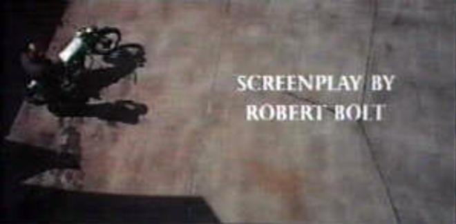 IMAGE: Lawrence of Arabia (1962) Original Writing Credit