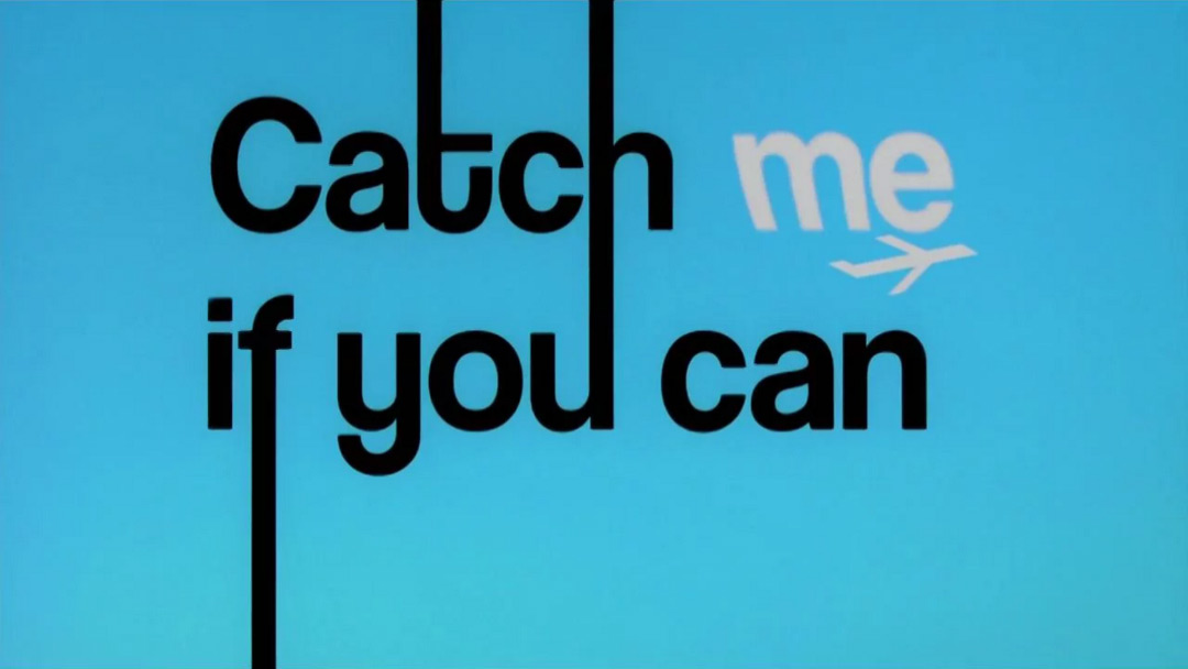 VIDEO: Title Sequence –Catch Me If You Can